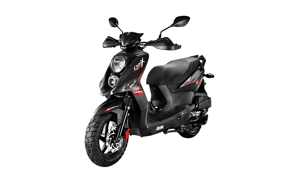 sym crox 125 2017 new motorcycle scooter 125cc scooters whateverwheels. Black Bedroom Furniture Sets. Home Design Ideas