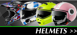 Click here to view our motorbike crash helmet collection, motocross, flip up, open face and full face