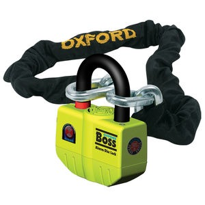 OXFORD BIG Boss Alarm Lock & Chain 12mm x 2.0m