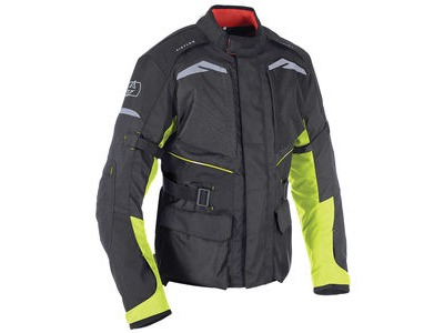 OXFORD Quebec MS Jacket Black/ Fluo
