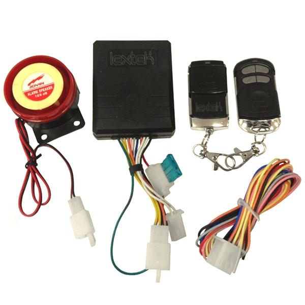 Lextek Lextek Alarm With Immobiliser     U00a319 99