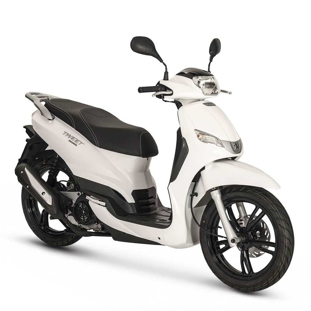 peugeot tweet 50 2018 new motorcycle scooter 50cc mopeds whateverwheels. Black Bedroom Furniture Sets. Home Design Ideas