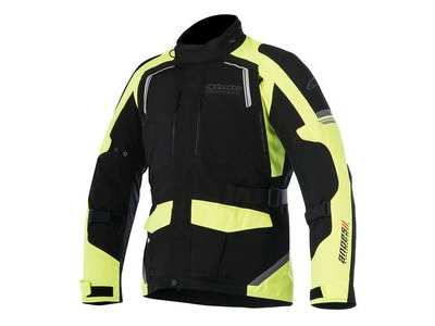 ALPINESTARS Andes V2 Drystar Jacket Black Yellow Fluo