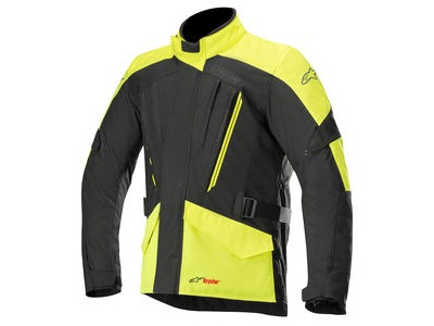 ALPINESTARS Volcano Drystar Jacket Black Yellow Fluo