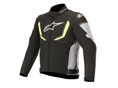 ALPINESTARS T-Gp R V2 Waterproof Jacket Black Grey Yellow Fluo