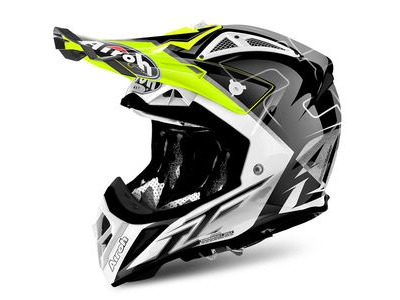 AIROH Aviator 2.2 Peak Cairoli Mantova Yellow