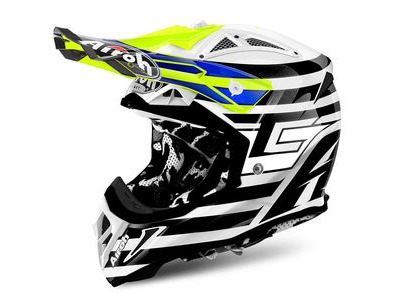 AIROH Aviator 2.2 Peak Cairoli Qatar Yellow