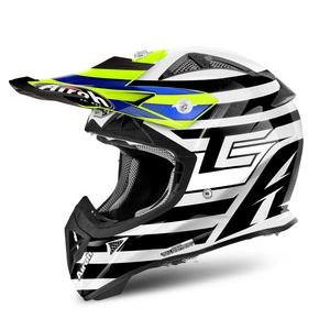 AIROH Aviator J Junior Peak Cairoli Qatar Yellow