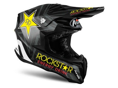 AIROH Twist Rockstar Black