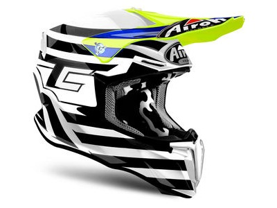 AIROH Twist Peak Cairoli Qatar Yellow