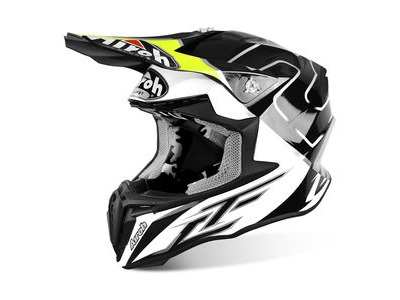 AIROH Twist Peak Cairoli Mantova Yellow