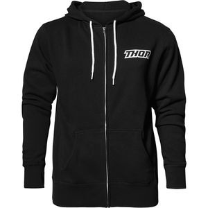 THOR Loud zip-up fleece hoody black medium