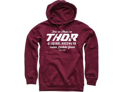 THOR SWEATER The Goods Maroon LG