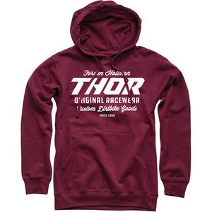 THOR SWEATER The Goods Maroon XL