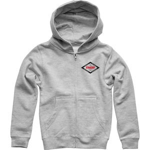 THOR HOODY YOUTH Namesake Zip Up Heather MD