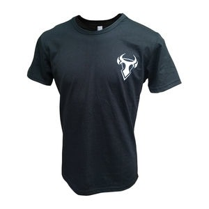 BULL-IT Mens T-Shirt Logo1 Black
