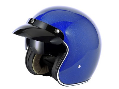V-CAN V537 Helmet - Blue Flake