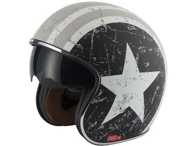 V-CAN V537 Classic Helmet - Rebel Star