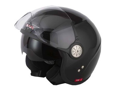 V-CAN V582 Helmet - Gloss Black