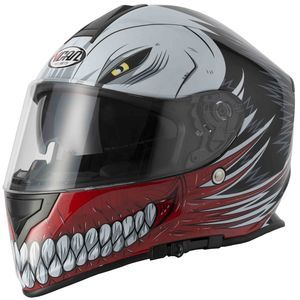 V-CAN V127 Helmet - Hollow Red