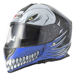 V-CAN V127 Helmet - Hollow Blue