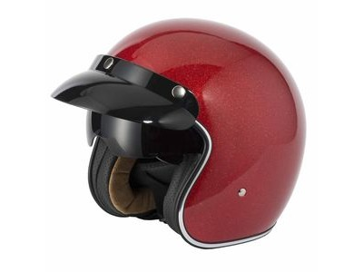 V-CAN V537 Helmet - Red Flake