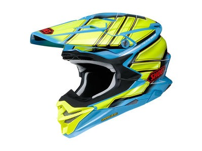 SHOEI VFX-WR Glaive TC2 Yellow