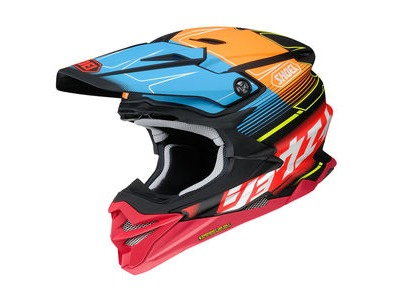 SHOEI VFX-WR Zinger TC10 Red