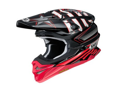 SHOEI VFX-WR Grant3 TC1 Red