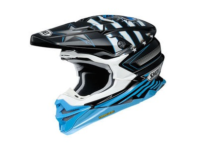 SHOEI VFX-WR Grant3 TC2 Grey