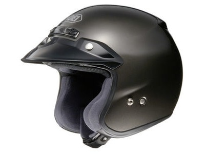 SHOEI RJ Platinum-R Plain Black