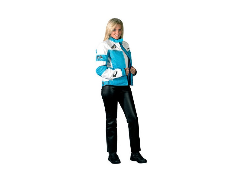 SPADA Lara Ladies Aqua Blue/White click to zoom image
