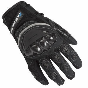 SPADA Textile Gloves CE MX-Air Black