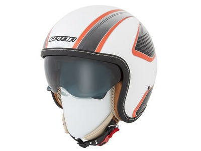 SPADA Helmet Raze Vecta White/Orange*