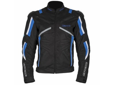SPADA Textile Jacket X-Sport WP Black/Blue/White*