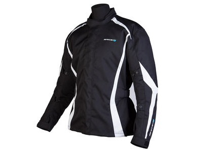 SPADA Textile Jacket Planet Black/White*