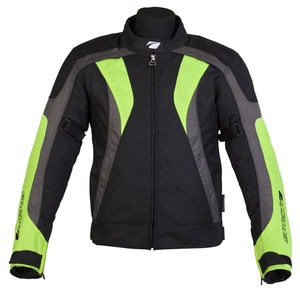 SPADA Textile Jacket RPM Black/Fluo*