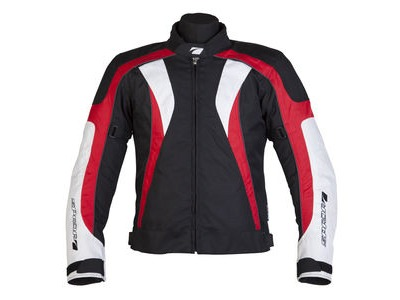 SPADA Textile Jacket RPM Black/Red*