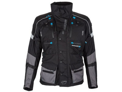 SPADA Textile Jacket Compass WP Black/Grey*