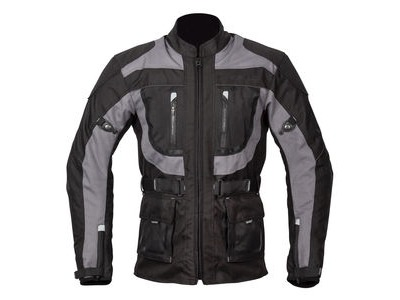 SPADA Textile Jacket Zorst CE WP Black/Grey