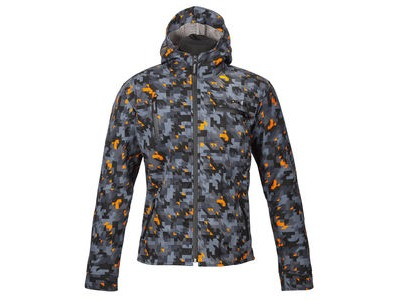 SPADA Textile Jacket Grid CE WP Camo Orange