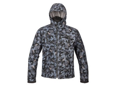 SPADA Textile Jacket Grid CE WP Camo Grey