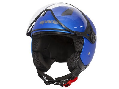 SPADA Helmet Hellion Matt Bright Blue