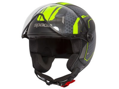 SPADA Helmet Hellion Arrow Matt Blk/Flo