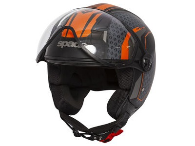 SPADA Helmet Hellion Arrow Blk/Orange